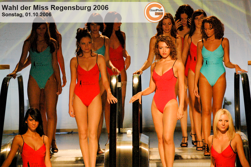 Wahl der Miss Regensburg 2006