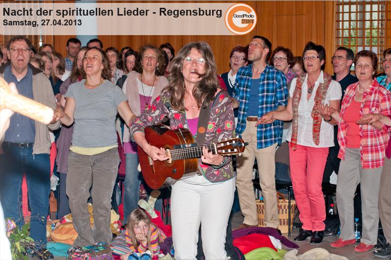 Regensburg Nacht der spirituellen Lieder