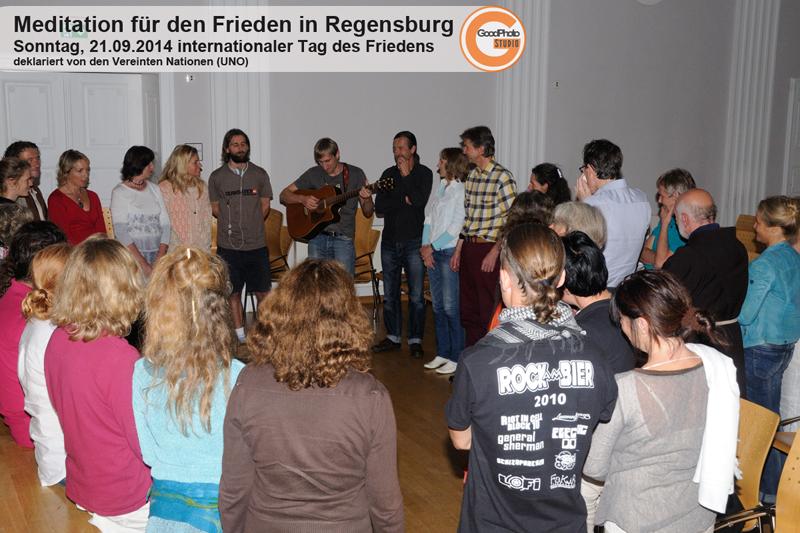 Regensburg für den Weltfrieden