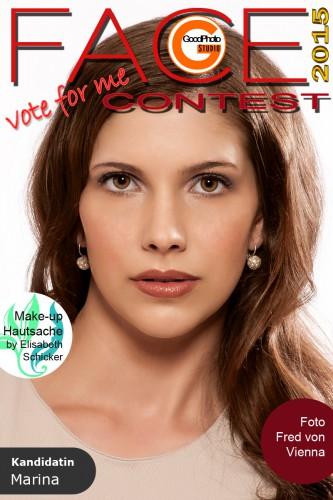 Face Contest 2015 Kandidatin Marina
