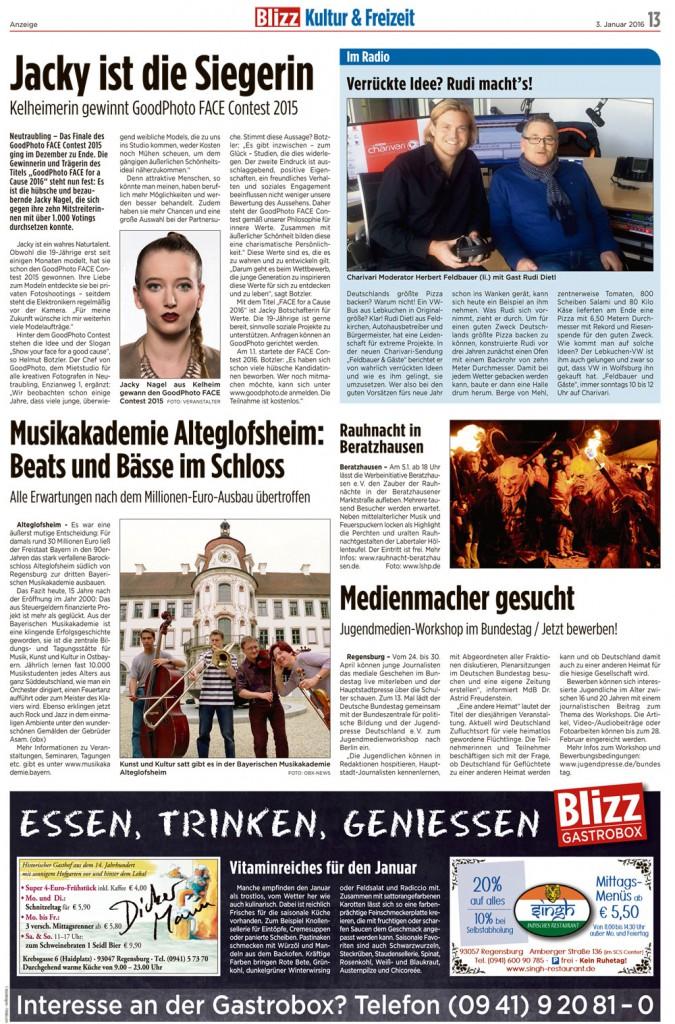 FACE Contest Blizz Regensburg