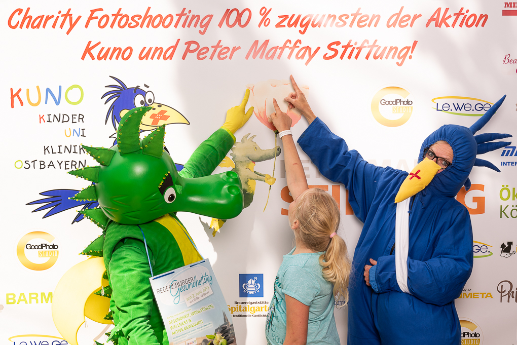 Charity Fotoshooting beim Regensburger Gesundheitstag