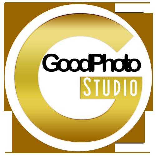 Das Logo vom GoodPhoto Miet- Fotostudio Regensburg