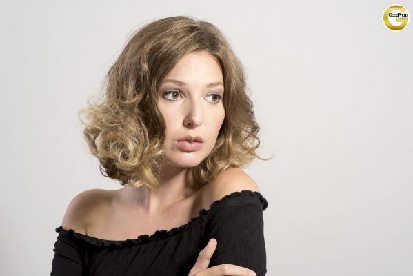 Sedcardshooting mit Model Catharina Rüb, Fotograf Fred Geschka